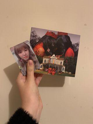 RED VELVET PERFECT VELVET ALBUM CON PHOTOCARD
