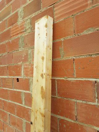 Traviesas madera de abeto 1'95