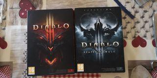 juego diablo y expansión