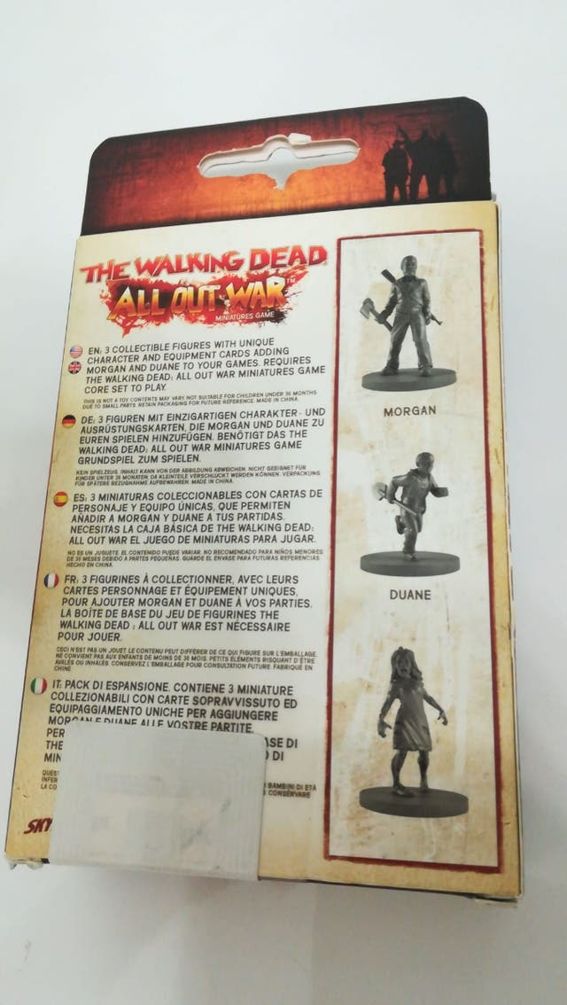Morgan Booster Walking Dead - All Out War Nuevo