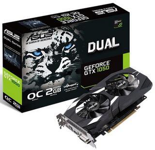 Tarjeta Grafica Asus GeForce GTX 1050 Dual OC 2GB