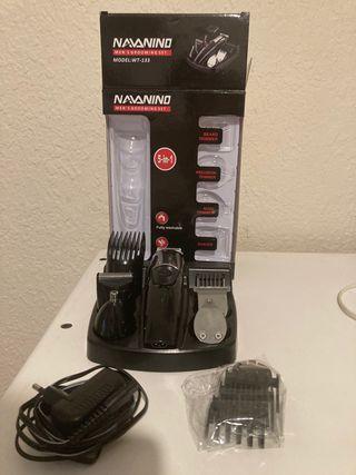 Máquina de cortar el pelo con accesorios