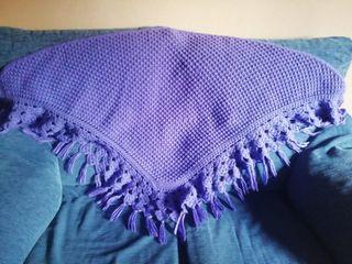 toquilla color lila