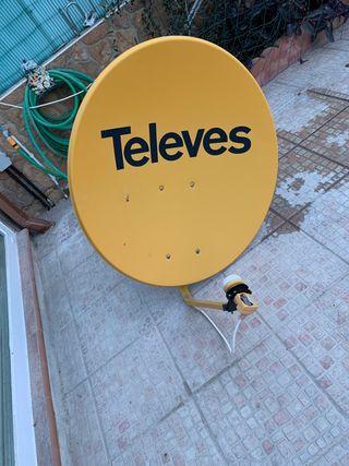Antena satélite televes