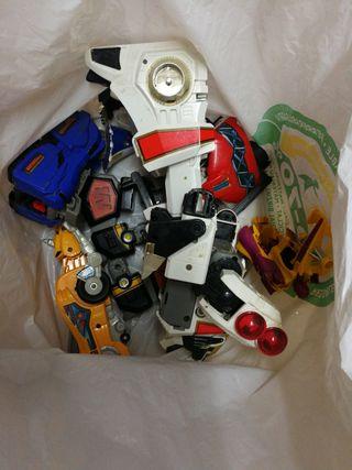 Lote transformers antiguos