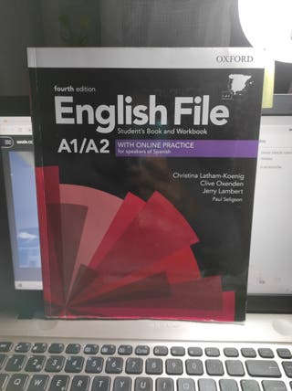 Libro English file A1/A2