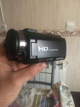 Video cámara de vídeo Full HD