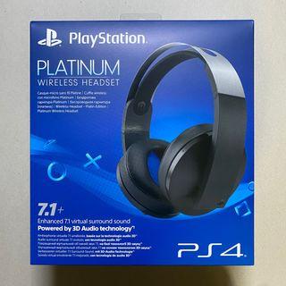 Platinum headset PS4 7.1