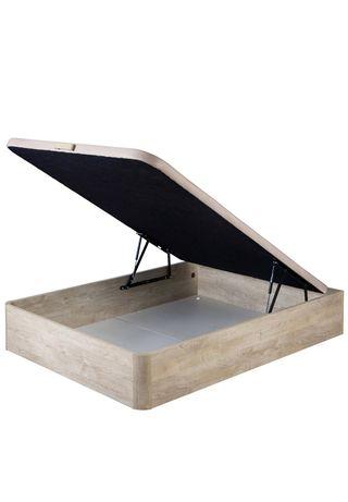 Canapé abatible madera clara (150x200)
