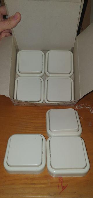 interruptores Fontini nuevos blancos