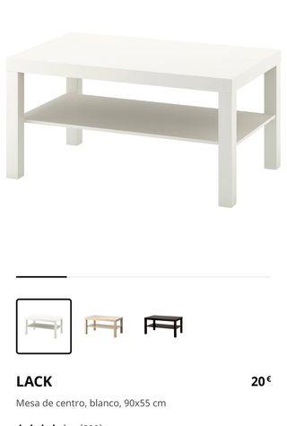 Mesa centro Ikea