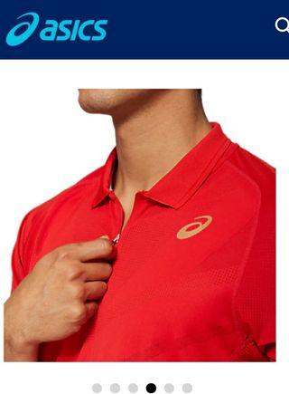 Camiseta Asics Tennis M Polo Shirt 600