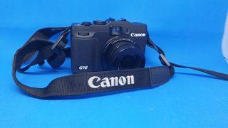 Canon Powershot G16 Camara Compacta