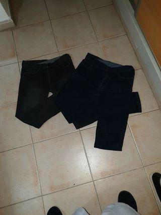 pantalones de hombre estilo vaquero