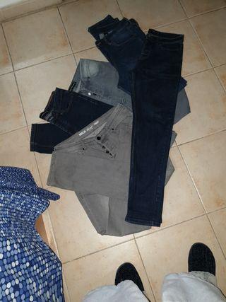 lote de 5 pantalones vaqueros