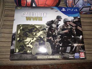 PS4 slim 1tera edición call of dyty coleccionista