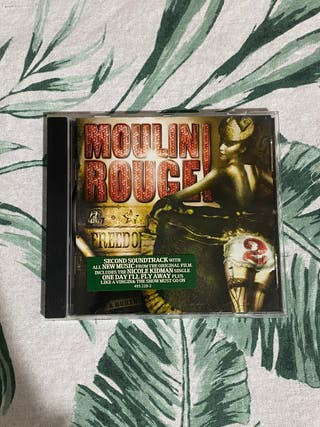 CD banda sonora Moulin Rouge