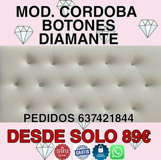 Cabecero Botones diamante OFERTON