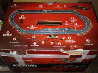 circuito scalextric digital completo
