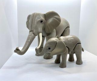Lote de elefantes Playmobil