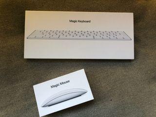 Ratón y teclado inalámbricos Apple
