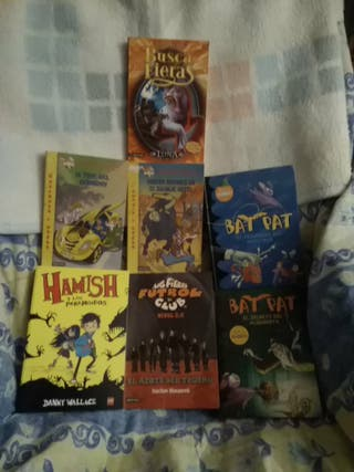 Conjunto de libros juveniles