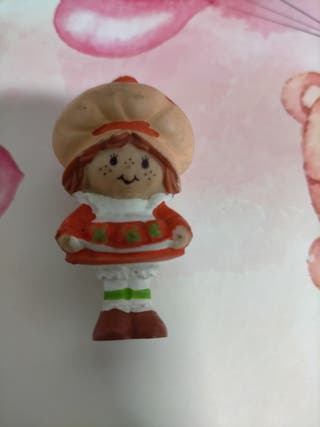 muñeca tarta de fresa