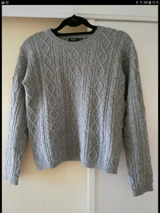 Jersey lana ochos Bershka