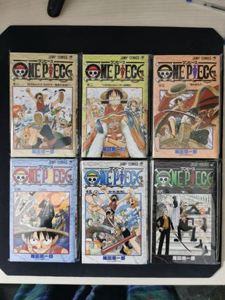 One Piece Jump Cómics Japonés
