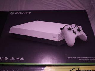 Xbox one x edición especial robowhite