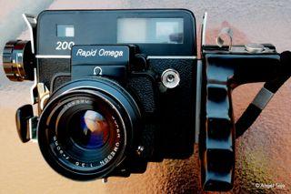 Telemétrica sistema Leica,Formato 6x7.Koni Omega.