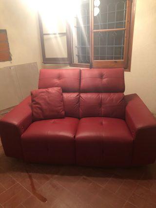 """Sofá de piel """"Pedro Ortiz"""""""