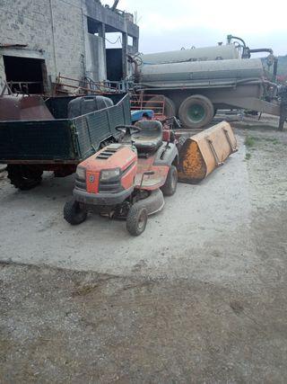 tractor cortacep Husqvarna