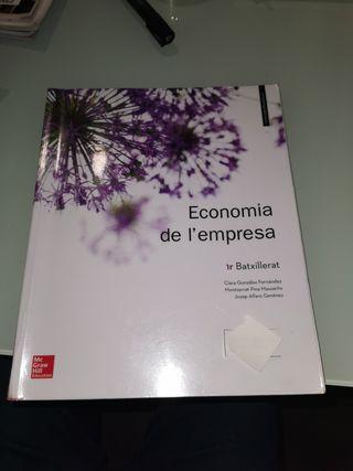 Economía de l'empresa 1er Bat. ISBN: 9788448614522