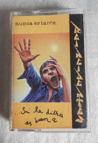 Cinta Cassette Reincidentes-Nunca es tarde si.