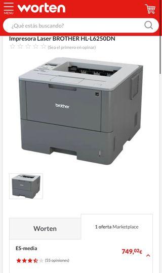 Impresora BROTHER HL-L6250DN