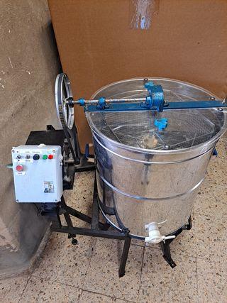 extractor de miel eléctrico 4 cuadros