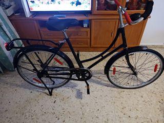 bicicleta paseo made in holland restaurada de todo