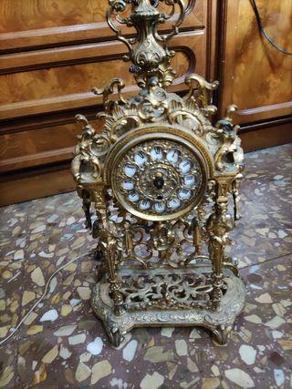 reloj bronce antiguo