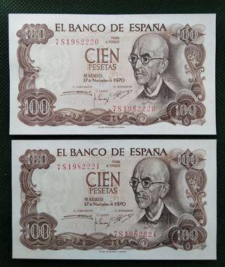 LB-1. BILLETES ESPAÑOLES ANTIGUOS.