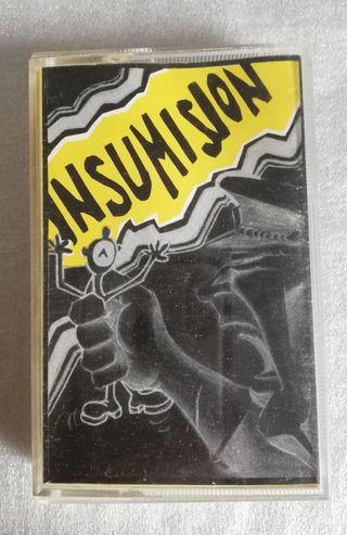 Cinta Cassette Insumisión (Variado Punk).