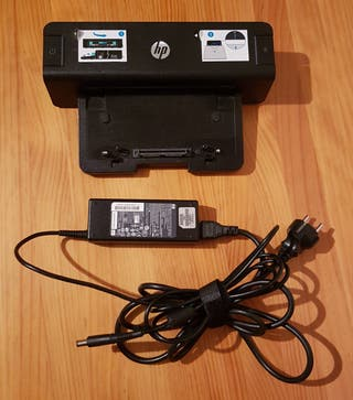 Dock station HP con cargador