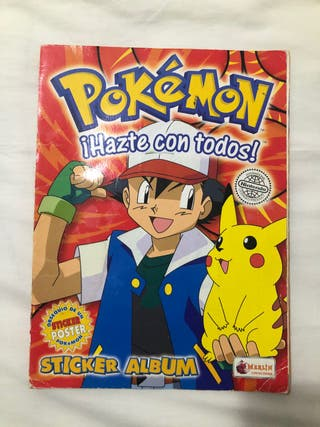 Álbum cromos pokemon