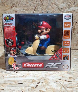 precintada super Mario bros moto radiocontrol