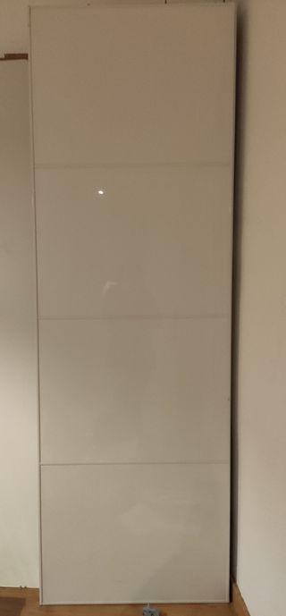 2 puertas de armario correderas Ikea