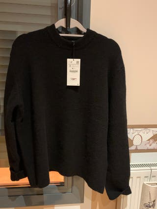 Jersey lana oversize Zara