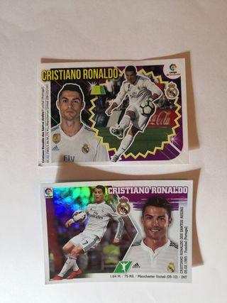cromos panini Cristiano Ronaldo