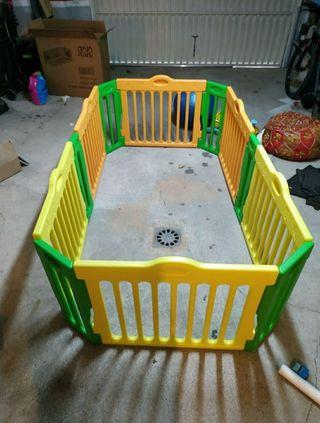 parque infantil BABY VIVO de vallas