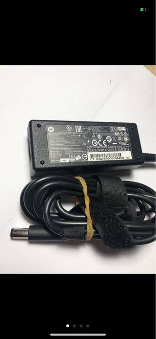 Cargador hp portatil antiguo 19,5 v 2,31 a 45 watt