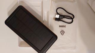 Cargador Solar 26800mAh, Power Bank Solar
